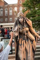 Ten31 Productions Live Statue