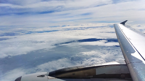 Clouds over Batak dam (Bulgaria)