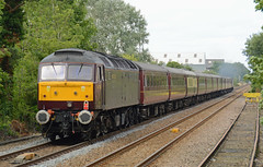 47786 Wymondham 17/07/15 (rhayward92) Tags: west coast railway class duff 47 wymondham wcrc 47786 5z54