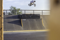 Tomislav Radi | Air (Marin Lonar) Tags: sport canon 50mm jumping bmx ramp air extreme osijek skatepark t3i drava 600d pannonian kopika