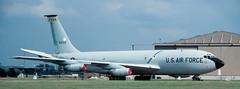 KC-135Q, 80112, 9th Strategic Reconnaissance Wing, Mildenhall Air Force Base, 19-7-1985 (Anne Fintelman) Tags: kc135q 80112 9thstrategicreconnaissancewing mildenhallairforcebase 9srw