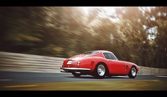 SWB (Thomas_982) Tags: gt5 cars auto gt6 ferrari 250 swb rosso red italy ps3 gran turismo ps4 uk goodwood outdoor
