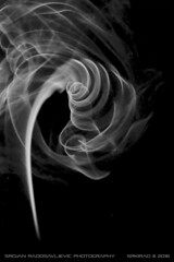 Smoke art: Whirlpool (srkirad) Tags: monochrome blackbackground black white blackandwhite bw blackwhite smokeart smoke art indoor
