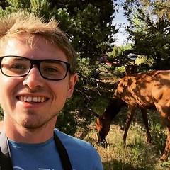 Very close to deer. That's the natural wildlife 😉 https://youtu.be/NqRmENzq4oc  #grandcanyon #southrim #nature #travel #blogger #influencer #pics (yourtravelguide) Tags: southrim nature travel blogger influencer pics