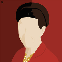 Simon De Beauvoir (Yelena Maria Drinkie) Tags: simonedebeauvoir ritratto portrait ottomarzo 8marzo scioper strike globalstrike nonunadimeno niunamenos illustrazionedigitale illustrazione digitalillustration digitalportrait