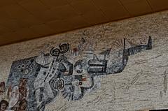 _DSC0019_cw (Wylf) Tags: soviet urss mozaika mosaic urbex cold war youri gagarine ussr hero urbexu history old