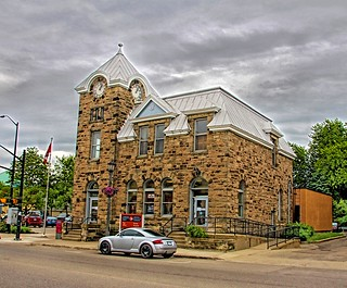 Elora Ontario ~ Canada ~ Elora Post Office  1912 ~  Heritage Building