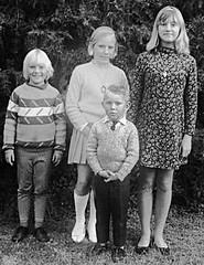 1970_gimped (Marlene Manto) Tags: 1970 eudunda kids family siblings me marlene heather sharon bruce