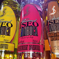 it's just a little boozy! (green-dinosaur) Tags: pink light reflection glass colours booze theme 365 iphone iphone4 iphoneography suefagg