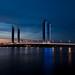 https://www.twin-loc.fr  Bordeaux - Pont Chaban Delmas sur la Garonne - Photo Image Photography - Garonne Gironde Bridge www.supercar-roadtrip.es