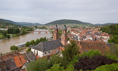 Miltenberg (maxunterwegs) Tags: city castle church rio river germany bayern deutschland bavaria flooding flood main kirche alemania fluss alemanha inondation burg miltenberg hochwasser baviera inundao enchente inundacin alemagne bavire mildenburg burgmiltenberg