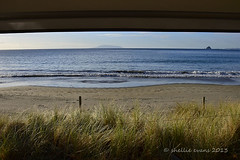 Port Jackson, Coromandel (flyingkiwigirl) Tags: road sunset sea camp beach port coast sand jackson coastline campground doc peninsula gravel coromandel portjackson