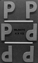 MLN075 (Chocolate Concepts) Tags: chocolate letters number numbers letter p mold