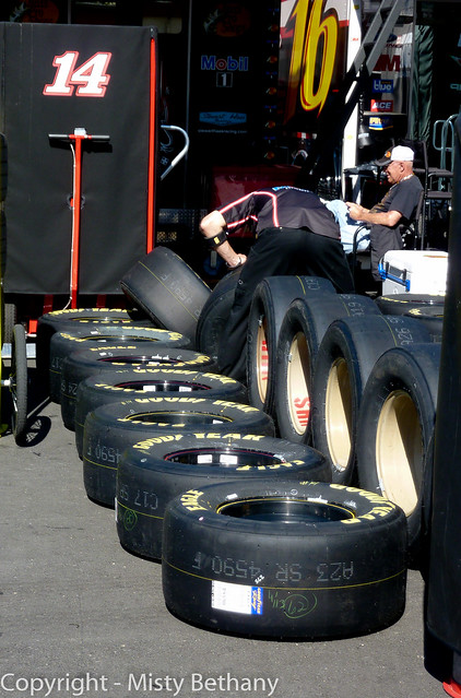 Tires in the 14 Camp