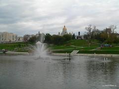 В парке Пушкина.