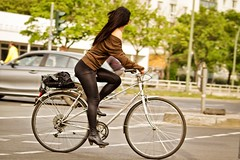 Black, streamlined (berlincyclechic) Tags: berlin fashion bicycle cycling lifestyle cyclechic berlincyclechic