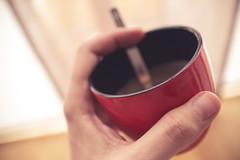 no-fuzz morning coffee (imageneer) Tags: home coffee canon hand 22mm eosm