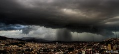 Cortina de agua en Barcelona (Tono Carbajo) Tags: barcelona storm rain clouds lluvia nubes tormenta nationalgeographic