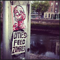 zas in ireland (andres musta) Tags: zas zombie sticker dublin ireland andres musta stickers stickerart art squad zombieartsquad adhesive andresmusta slaps