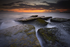 Lima Beach (krishmahaputra) Tags: longexposure sunset bali seascape canon indonesia landscape photography slowshutter popular instagram