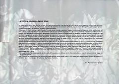 1998-ROSE ESAGERATE- SPAZIO SAN CARPOFORO