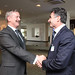 Siim Kallas, EC Vice-President and European Commissioner for Transport and Umberto de Pretto, IRU Secretary General