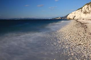 Blue White Beach