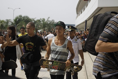 Skate Exhibition - Nyjah Huston
