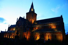 St Magnus Cathedral (Owen H R) Tags: st night lights orkney cathedral magnus kirkwall owenhr
