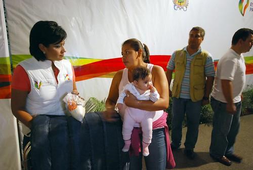 Celestina Sarmiento Olivares le agradeció el apoyo a Elízabeth Morales.