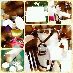 Prototypes to check measurements. Seems...okay... (Ivory Fox) Tags: square three dolls gear squareformat hudson bjd dimensional maneuver instagramapp uploaded:by=instagram shingekinokyojin   threedimensionalmaneuvergear sgdc2013