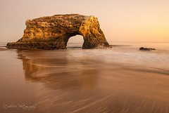 Natural Bridges State Beach (Studio281Photos) Tags: california sunset santacruz beach october shoreline rockformation naturalbridgesstatebeach