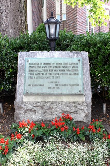 Haywood County Veterans Memorial - Brownsville, TN