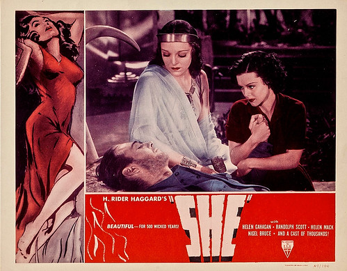 She (RKO, R-1949). Lobby Card (11
