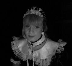 Black and white maid (Felicia Colette) Tags: uniform cd sissy transvestite maid crossdresser pvc frenchmaid sissymaid tgurl
