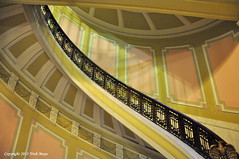 Staircase (Trish Mayo) Tags: newyork museum architecture smithsonian staircase museumoftheamericanindian thebestofday gününeniyisi