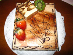 Photography 005 (rodrigo.argumedo1) Tags: food cake strawberries kiwi chocolatedipped