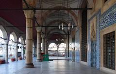 Sinan, Rüstem Paşa Mosque, porch