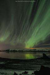 Aurora (Northern Light) in Iceland (noomplayboy) Tags: light sky panorama mountain lake snow storm reflection night stars solar iceland amazing nightshot space reykjavik atlantic glacier aurora february activity peninsula valentinesday myvatn magnetic borealis phenomenon nuture kleifarvatn northernlight geomagnetic  aurorapanorama  noomplayboy coldarctic auroraborealls plusgooglecomu0104736743032250724923posts