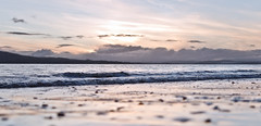 Seascape with the 35mm (DannyBradley) Tags: sunset seascape abstract 35mm landscape nikon flickr donegal inishowen loughswilly d7000 nikond7000 dannybradleyphotography