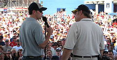 NASCAR on stage