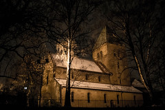 Gamle Aker Church, Oslo (expansion1234) Tags: oslo architecture churches nighttime