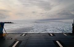 (HolmisticWalker) Tags: winter sea ice ferry scenery february