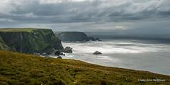 Hermeness, Unst 01 (SallyAnnespics) Tags: blue colour scotland cliffs puffins shetland gannets unst seasky hermeness