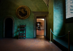 palazzo vecchio (https://www.facebook.com/fotopotok) Tags: door italy window girl museum architecture lights florence chair nikon tuscany 1855mm terra cotta d5000