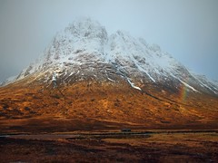 As the rain bows out.... (kenny barker) Tags: snow scotland day glencoe scottishlandscape olympusep1 panasonic20mmf17asphlens kennybarker pwwinter