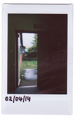 day five (Kassie Yates) Tags: door old white art writing notebook polaroid photography photo trapped day border days retro instant 100 90 espace instax
