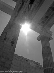 ''the power of light...2014'' (  1.000.000views!!!!) Tags: city light sun art architecture contrast canon blackwhite athens greece architect acropolis ancients blackdiamond tasostsoukalasphotography