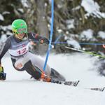 Zaks GEDRA of Latvia takes 3rd Place in the U16 Boys Slalom Race held on Whistler Mountain on April 5th, 2014. Photo by Scott Brammer - coastphoto.com