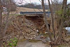 Washed Out (djh644) Tags: bridge water flood sony erosion damage rx100m2